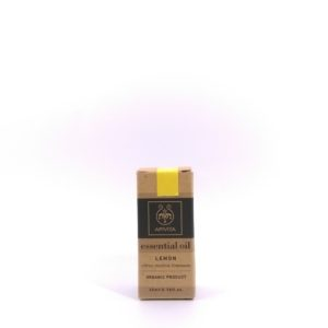 Apivita Lemon Essential Oil 有機認證香薰油 (檸檬) 10ml
