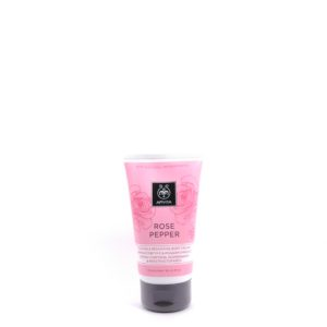 Apivita Firming and Reshaping Body Cream with Pink Pepper & Bulgarian Rose 150ml