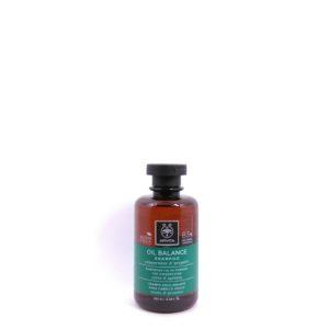 Apivita Oil Balance Shampoo with Peppermint & Propolis 250ml