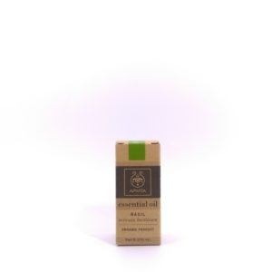 Apivita Basil Essential Oil 有機認證香薰油 (羅勒) 5ml