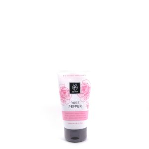 Apivita Deep Exfoliating Cream with Bulgarian Rose & Black Pepper 150ml