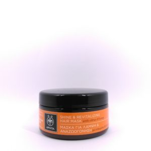 Apivita Shine and Revitalizing Hair Mask with Citrus & Honey 200ml