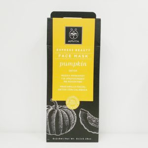 Apivita Express Beauty Detox Face Mask with Pumpkin 南瓜排毒面膜 6x2x8ml